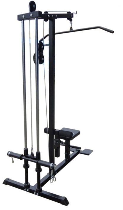 Lat PullDown Low Row Fitness Machine