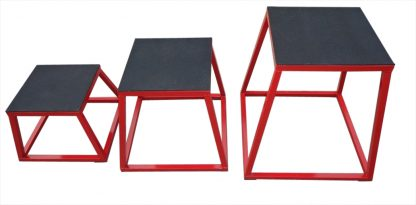 Plyometric Box Set of 3 Plyo Jump Boxes