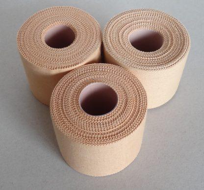 Premium Rigid Sports Strapping Tape - 3 Rolls of 38mm X 13.7M