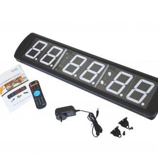 6 Digit Digital Timer Interval Fitness Clock