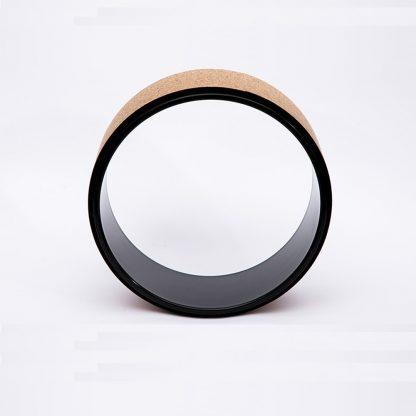 Yoga Pilates Wheel Cork Circle Prop Back Chest Hips Abdomen Stretch Roller