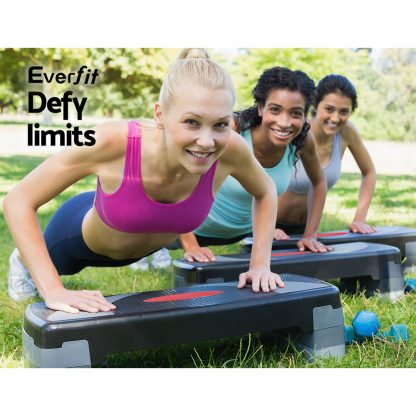 Everfit 3 Level Aerobic Step Bench