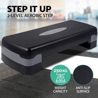 Everfit 2 Level Block Aerobic Step Bench