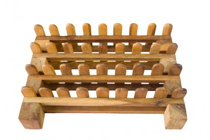 Wooden fence- set of 4