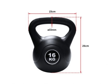 Kettle Bell 16KG Training Weight Fitness Gym Kettlebell