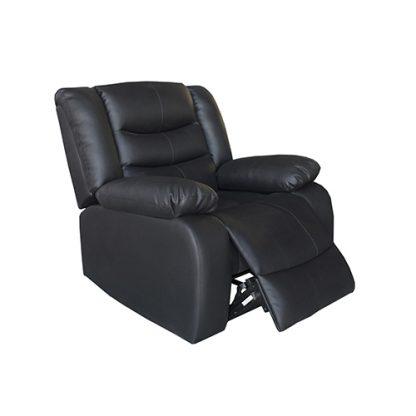 Fantasy Recliner Pu Leather 1R Black