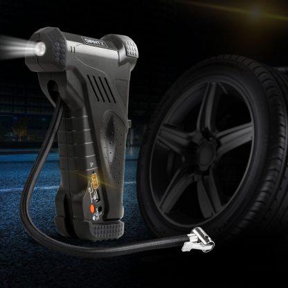 Giantz Portable Air Compressor Digital Hawk Cordless Car Pump Tyre Inflator 12V