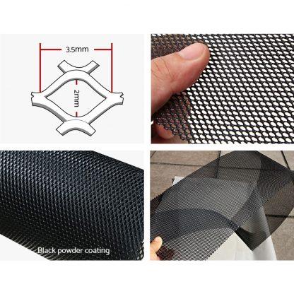 20x Gutter Guard Guards Aluminium Leaf Mesh Roof Tiles 100x20cm Brush DIY Deluxe Garden 20M