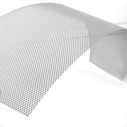 20 Piece Aluminium Gutter Guard Leaf Mesh- Silver
