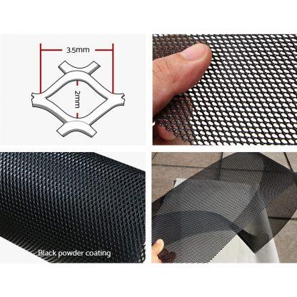 30x Gutter Guard Guards Aluminium Leaf Mesh Roof Tiles 100x20cm Brush DIY Deluxe Garden 30M