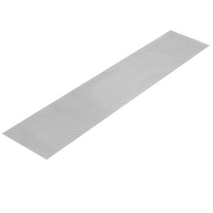 30 Piece Aluminium Gutter Guard Leaf Mesh- Silver
