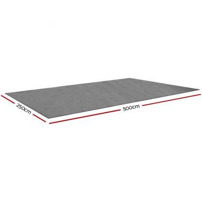 Weisshorn 5 X 2.5M Annex Floor Mat - Grey