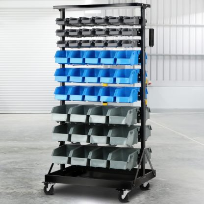 Giantz 90 Bin Storage Rack Stand