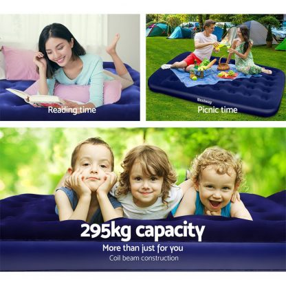 Bestway Queen Size Inflatable Air Mattress - Navy
