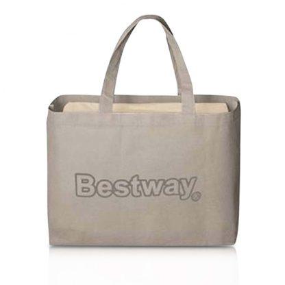 Bestway Queen Size Inflatable Air Mattress - Grey & Beige