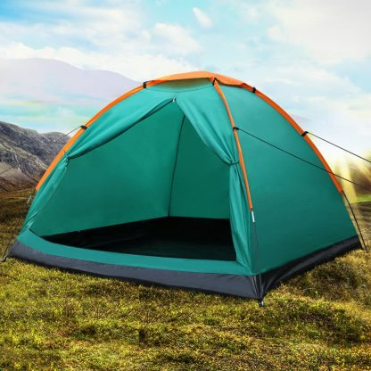 Bestway Camping Tent Family Hiking Canvas Beach Tent Three Person