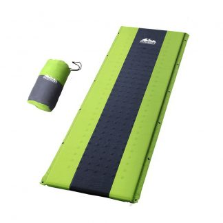 Weisshorn Self Inflating Mattress Camping Sleeping Mat Air Bed Pad Single Green