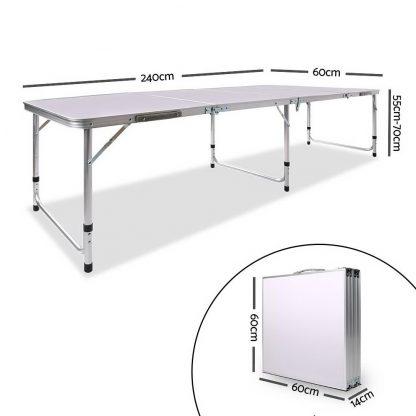 Portable Folding Camping Table 240cm