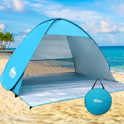 Weisshorn Pop Up Camping Tent Beach Hiking Sun Shade Shelter Fishing 3 Person