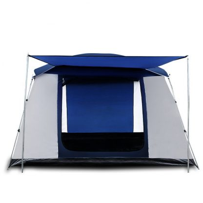 Weisshorn Family Camping Tent 6 Person Hiking Beach Tents Canvas Ripstop