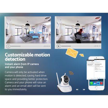 UL-tech Wireless IP Camera CCTV Security System Home Monitor 1080P HD WIFI