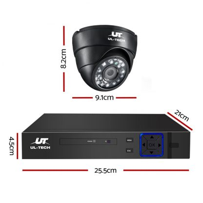 UL Tech 1080P 8 Channel HDMI CCTV Security Camera