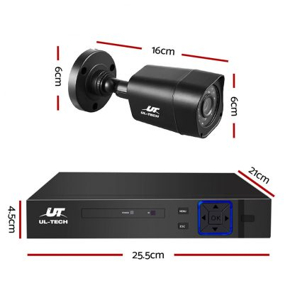 UL-tech CCTV Camera Home Security System 8CH DVR 1080P 1TB Hard Drive Outdoor