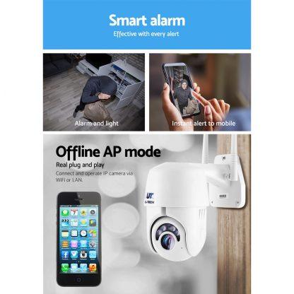 UL-tech Wireless IP Camera Outdoor CCTV Security System HD 1080P WIFI PTZ 2MP