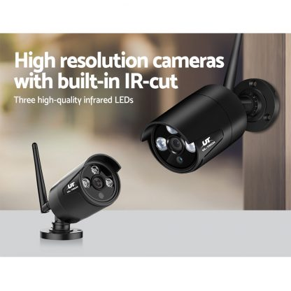 UL-TECH 1080P Wireless Security Camera System IP CCTV Home