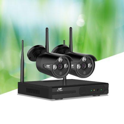 UL-TECH 1080P 4CH Wireless Security Camera NVR Video