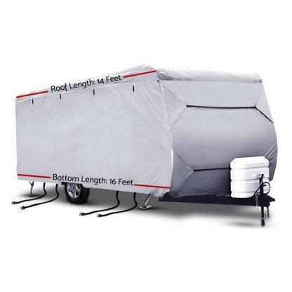 Weisshorn 14-16ft Caravan Cover Campervan 4 Layer UV Water Resistant
