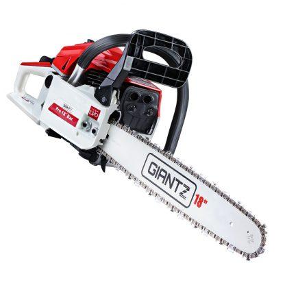 GIANTZ 45CC Petrol Commercial Chainsaw Chain Saw Bar E-Start Pruning