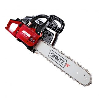 GIANTZ 52CC Petrol Commercial Chainsaw Chain Saw Bar E-Start Black