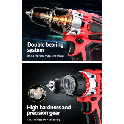 GIANTZ Impact Drill Electric 20V Lithium Impact Cordless Impact drill