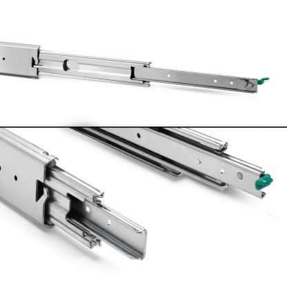 Cefito Heavy Duty 125KG Locking Drawer Slides Full Extension Ball Bearing 559mm