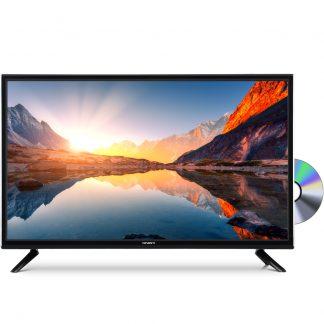 """Devanti 24"""" Inch LED TV Combo Built-In DVD Player DC 12V Caravan Boat USB"""