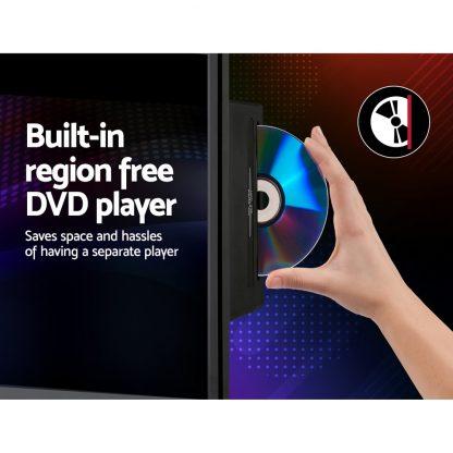 "Devanti LED TV 32 Inch 32"" Digital Built-In DVD Player LCD LG Panel USB HDMI"