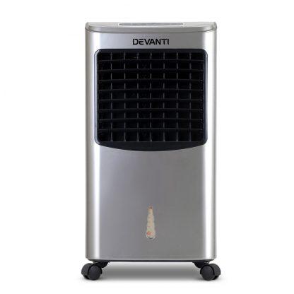 Devanti Portable Evaporative Air Cooler - Silver