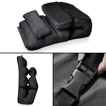 Artiss Adjustable Lounge Sofa Chair - Charcoal