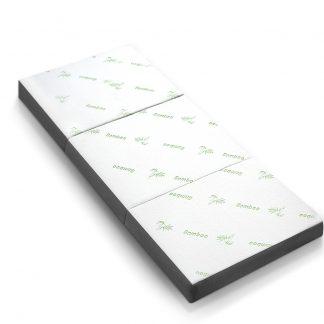 Giselle Bedding Folding Foam Portable Mattress Bamboo Fabric