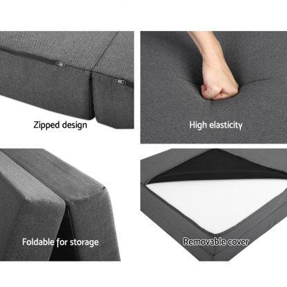 Giselle Bedding Folding Foam Portable Mattress