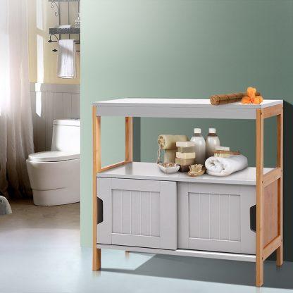 Artiss Buffet Sideboard Cabinet Storage Shelf Cupboard Hallway Tabe Sliding Door