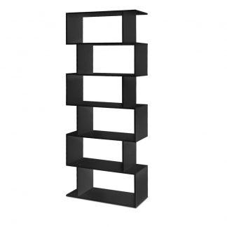 Artiss 6 Tier Display Shelf - Black