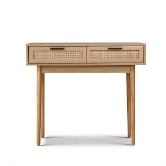 Artiss Rattan Console Table Drawer Storage Hallway Tables Drawers