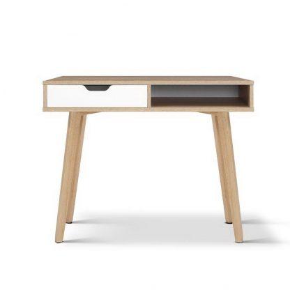 Artiss 2 Drawer Wood Computer Desk