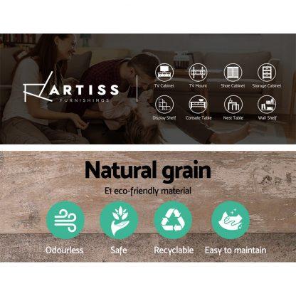 Artiss Buffet Sideboard Storage Cabinet Industrial Rustic Wooden