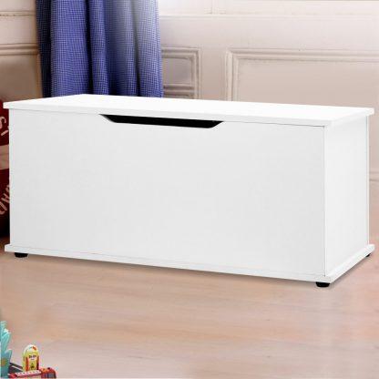 Keezi Blanket Box Kids Toy Storage Ottoman Chest Cabinet Clothes Bench Children