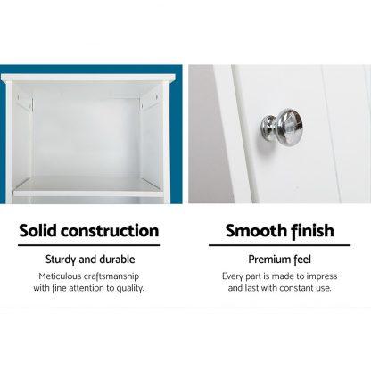 Artiss Bathroom Tallboy Furniture Toilet Storage Cabinet Laundry Cupboard Tall