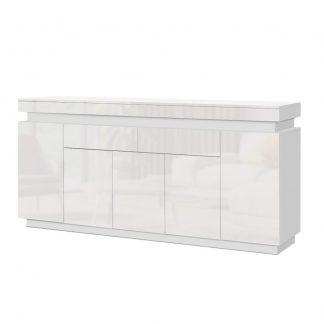 Artiss 180cm LED Buffet Sideboard Cabinet High Gloss Storage Cupboard Drawers