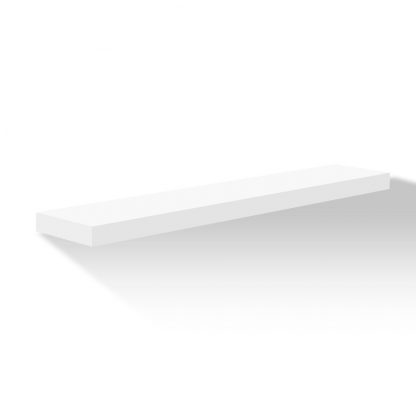 Artiss Wall Floating Shelf Set DIY Mount Storage Book Display Rack 80cm White